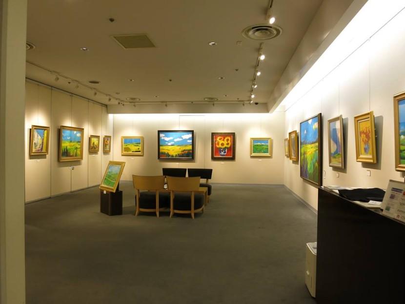 「―若き画壇の新星― 山内大介 油絵展」 渋谷・東急本店 2015年5月