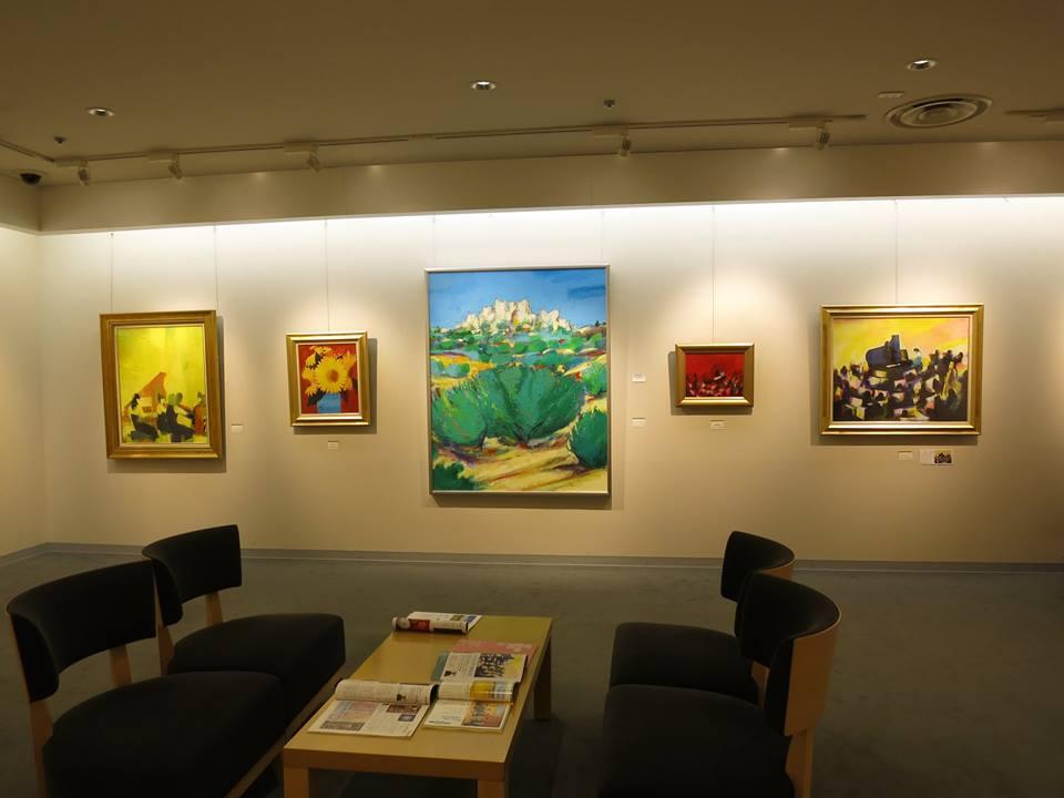 「―色祭協奏曲― 山内大介 油絵展」 渋谷・東急本店 2016年5月