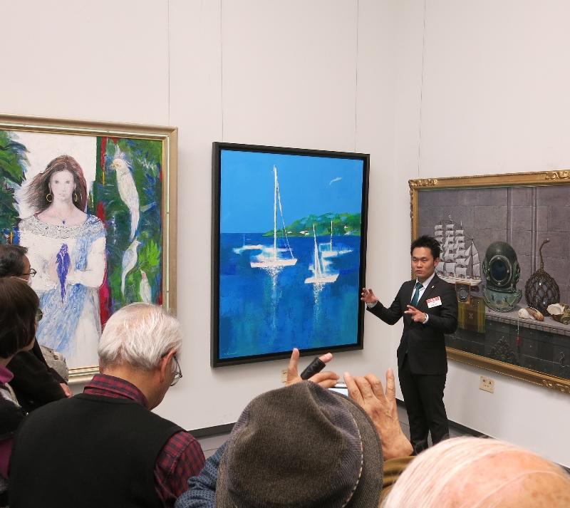 改組 新 第6回日展東海展 愛知県美術館ギャラリーにて。